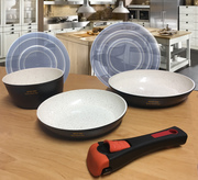 Ceramic pan 5 pieces set ECO-030